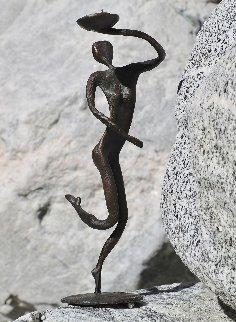 Private Bronze Set of 4 Sculptures 1990  16 in Sculpture - John  Kennedy