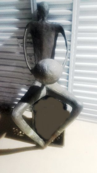 Player Unique Bronze Sculpture 53 in Sculpture by John  Kennedy