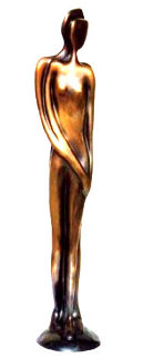 Soulmates Bronze Sculpture 17 in Sculpture - John  Kennedy