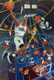 Space Jam 1996 Limited Edition Print by Melanie Taylor Kent