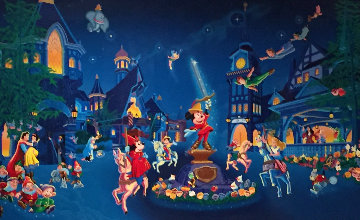 Fantasyland 1990 Limited Edition Print - Melanie Taylor Kent