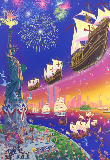 Christopher Columbus 2000 Limited Edition Print by Melanie Taylor Kent