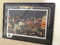 Las Vegas  Remarque 1985 Limited Edition Print by Melanie Taylor Kent - 2
