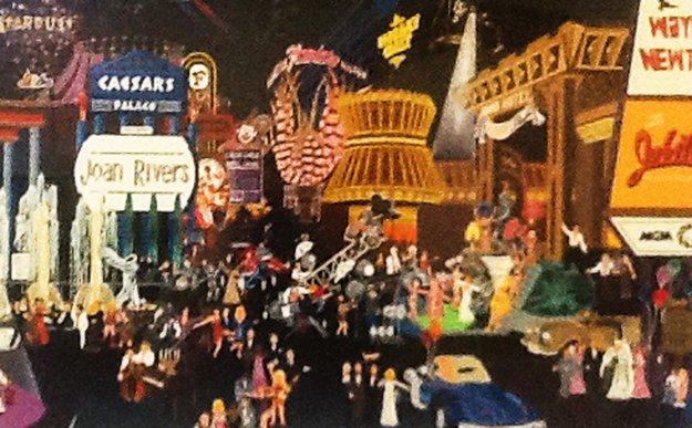 Las Vegas  1985 Limited Edition Print - Melanie Taylor Kent