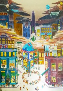 December on 5th Ave 1983 Limited Edition Print - Melanie Taylor Kent