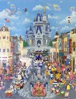 Walt Disney World 15th Anniversary AP 1987 Limited Edition Print by Melanie Taylor Kent - 0
