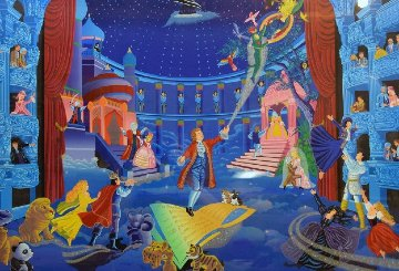 Tribute to Mozart 1990 Limited Edition Print - Melanie Taylor Kent