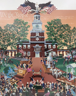 Constitution 200 AP 1987  Limited Edition Print - Melanie Taylor Kent