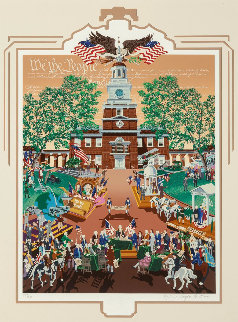 Constitution 200 AP 1987  Limited Edition Print by Melanie Taylor Kent