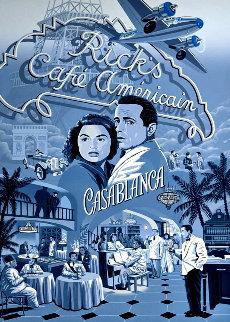 Casablanca 1993 Limited Edition Print by Melanie Taylor Kent
