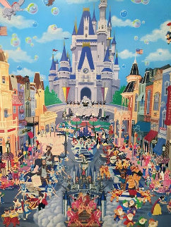 Walt Disney World 1987 Limited Edition Print - Melanie Taylor Kent