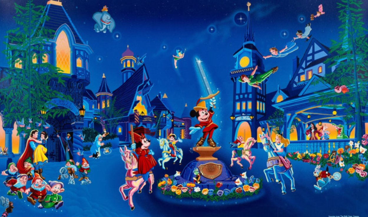 Fantasy Land Limited Edition Print by Melanie Taylor Kent