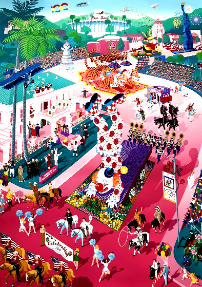 Centennial Tournament of Roses 1988 Limited Edition Print by Melanie Taylor Kent