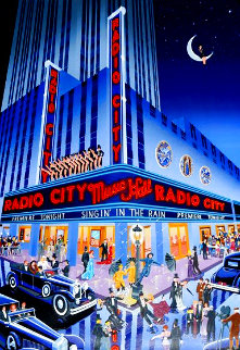 Radio City Music Hall AP 1989 w Remark Limited Edition Print - Melanie Taylor Kent
