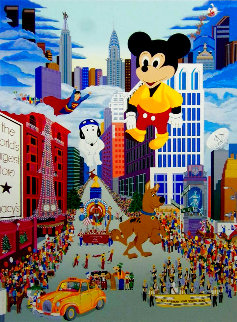 Macy's Thanksgiving Day Parade 1980 Limited Edition Print - Melanie Taylor Kent