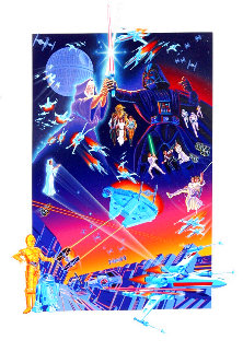 Star Wars 1992 Limited Edition Print - Melanie Taylor Kent