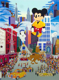 Macy's Thanksgiving Day Parade 1985 w Remarque Limited Edition Print by Melanie Taylor Kent