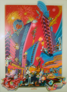 That's 50's Folks 1991 Limited Edition Print by Melanie Taylor Kent