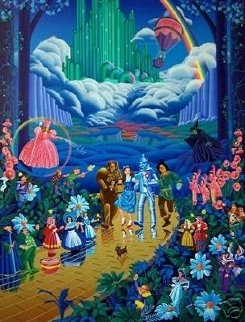 Wizard of Oz Remarqued 1989 Limited Edition Print - Melanie Taylor Kent
