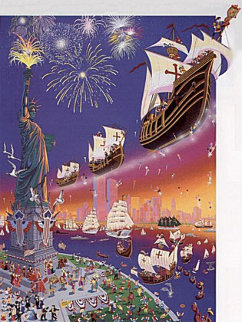 Christopher Columbus 500th Anniversary 1992 Limited Edition Print by Melanie Taylor Kent