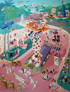 Rose Parade Centennial 1988 Limited Edition Print by Melanie Taylor Kent