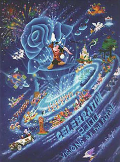 Mickey Mouse Visions of the Future 2000 Limited Edition Print - Melanie Taylor Kent