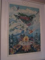 Let the Winter Games Begin 1988 Limited Edition Print by Melanie Taylor Kent - 1