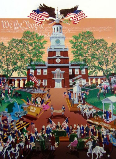 We the People AP 1988 Limited Edition Print by Melanie Taylor Kent