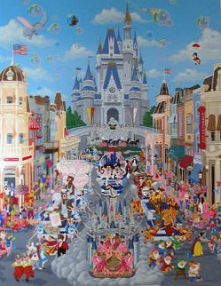 Walt Disney World AP 1988 Limited Edition Print - Melanie Taylor Kent