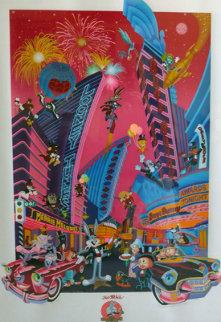 That's 50, Folks Remarque AP 1991 Limited Edition Print - Melanie Taylor Kent
