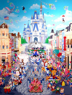 Walt Disney World 15th Limited Edition Print - Melanie Taylor Kent