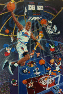 Space Jam 1996 Limited Edition Print - Melanie Taylor Kent