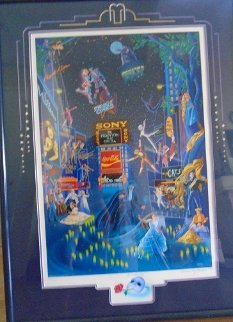 Broadway 1990 with Remarque Limited Edition Print - Melanie Taylor Kent