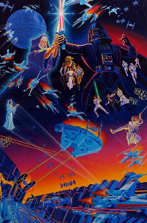 Star Wars 1992 Limited Edition Print by Melanie Taylor Kent
