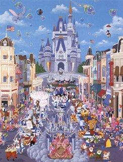 Walt Disney World 1987 Remarque Limited Edition Print by Melanie Taylor Kent