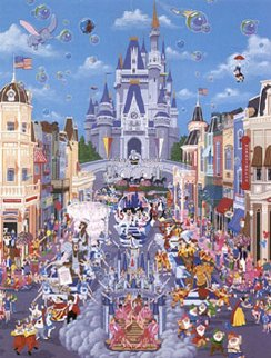 Walt Disney World 1987 Remarque Limited Edition Print - Melanie Taylor Kent