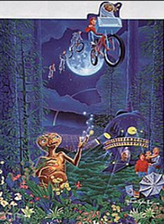 E.T. The Extra-Terrestrial AP 1992 Limited Edition Print - Melanie Taylor Kent