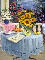 Untitled Painting 40x30 Original Painting by Mostafa Keyhani - 1