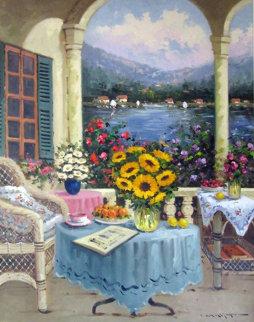 Untitled Painting 40x30 Original Painting - Mostafa Keyhani
