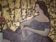 Undecided 2000 28x24 Original Painting by Alex Khomsky - 3
