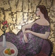 Undecided 2000 28x24 Original Painting by Alex Khomsky - 0
