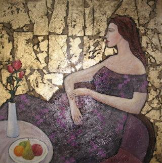 Undecided 2000 28x24 Original Painting by Alex Khomsky