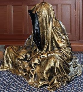 Guardian of Time Resin Sculpture  35 in Sculpture by Manfred Kielnhofer