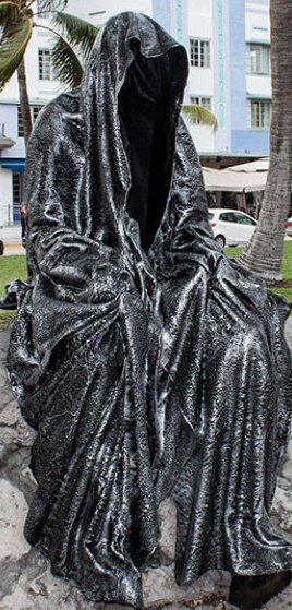 Guardian of Time Resin Sculpture 2014 59 in Sculpture by Manfred Kielnhofer