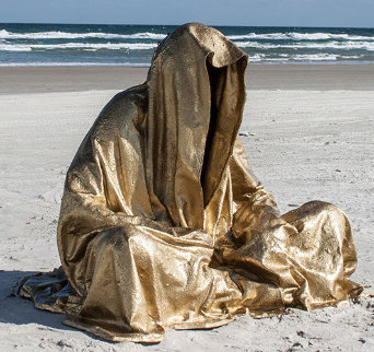 Guardians of Time Polybronze Sculpture 2014 Sculpture by Manfred Kielnhofer