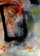 Untitled Abstract Watercolor 12x14 Watercolor by Edward Kienholz - 0