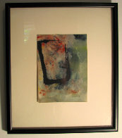 Untitled Abstract Watercolor 12x14 Watercolor by Edward Kienholz - 1