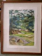Augusta #12 Watercolor 31x39 Georgia Watercolor by Mark King - 1