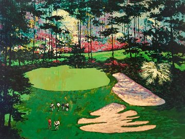 Augusta National Golf Club 10th Hole 1990 Limited Edition Print by Mark King