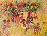 Carnival 1974 36x48 (Early) Original Painting by Mark King - 0